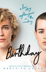 Birthday book cover