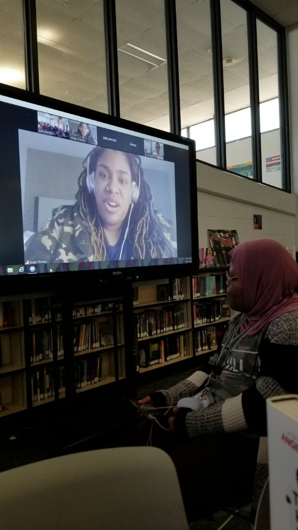 Denver Teacher Librarian Brings Students Back to Library