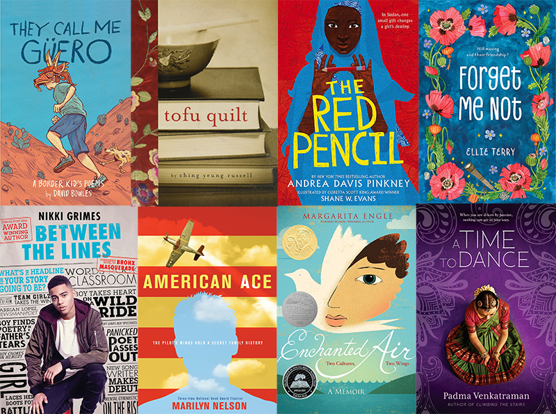 Diverse Novels in Verse for National Poetry Month