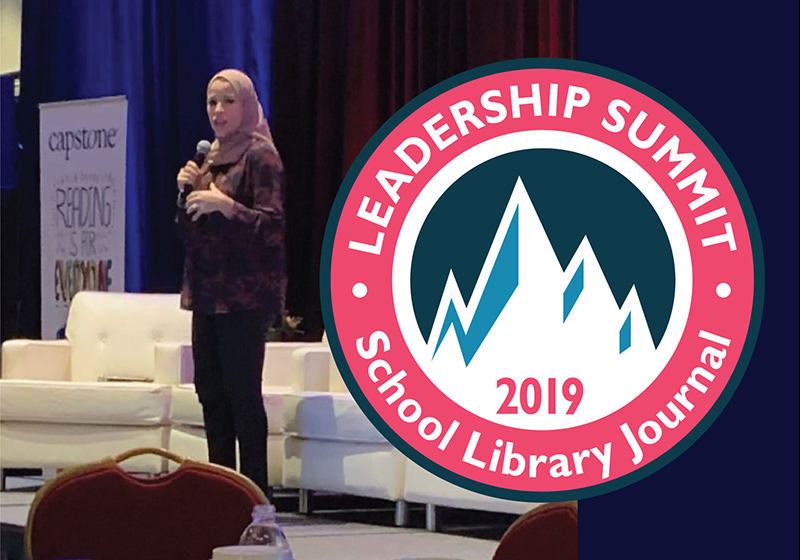 Alaa Murabit Opens SLJ Summit with Challenge for Attendees