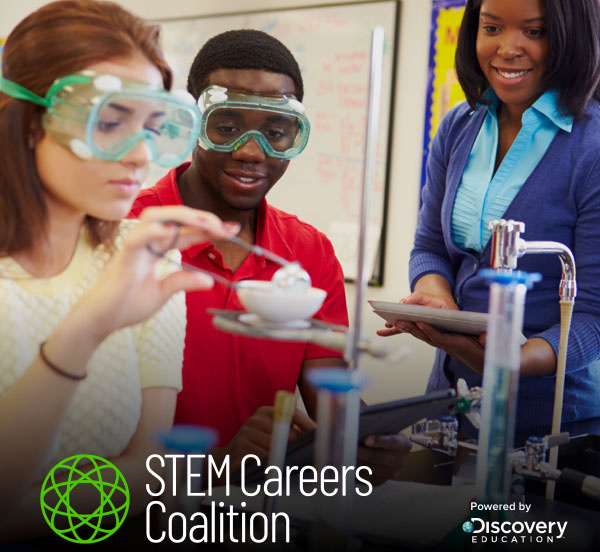Discovery Education Launches STEM Careers Coalition