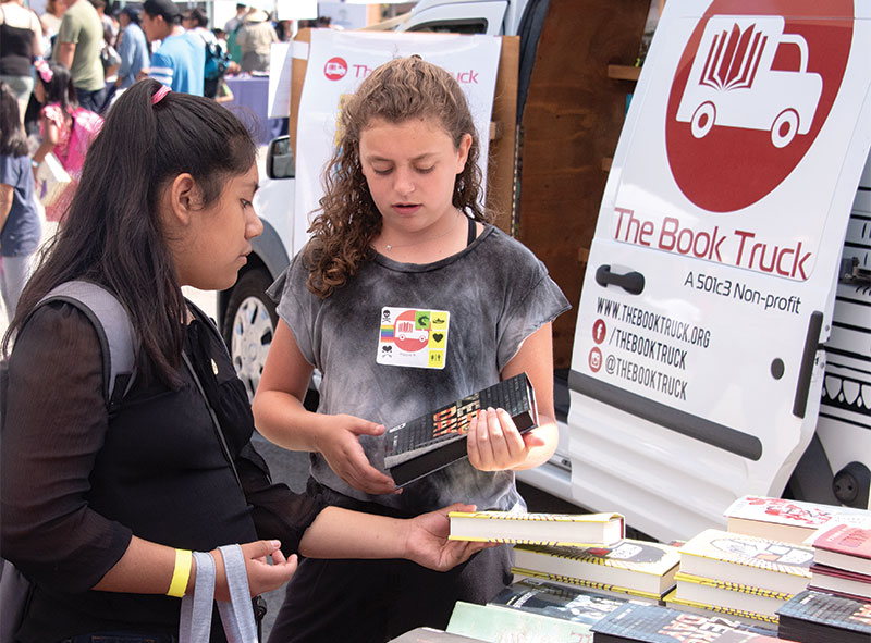 The Book Truck Brings Free Books to Thousands of L.A. Students