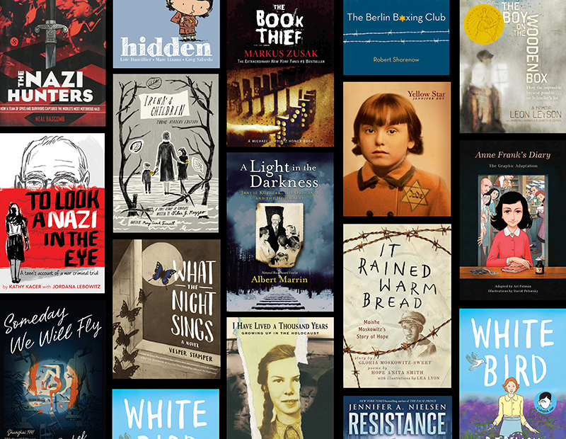 Commemorate Holocaust Remembrance Day with these MG and YA Titles