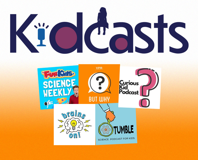 Nine Podcasts About COVID-19 for Children Ages Five to 12 | Kidcasts