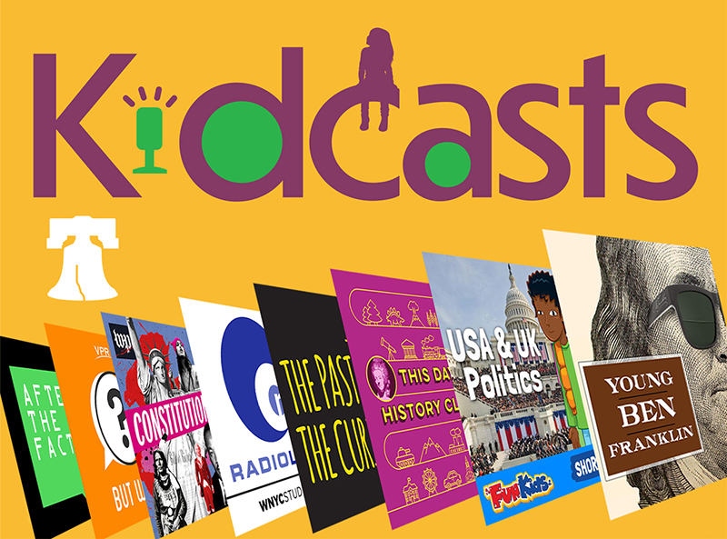 8 Podcasts About Civics and U.S. History | Kidcasts