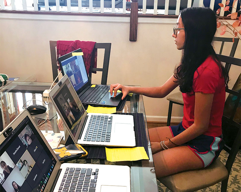 Teen at Newark Public Library Expands Peer-Led Coding Club Online