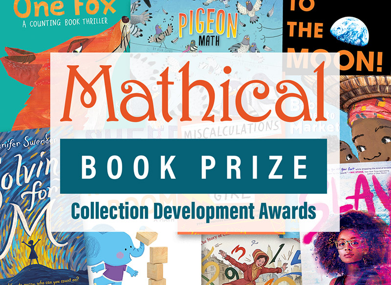 SLJ, MSRI Select 25 School Libraries to Receive Mathical Book Prize Collection Development Awards