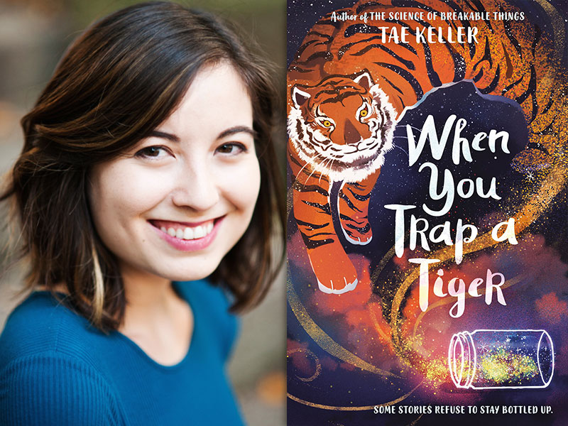 From Korean Folklore to a Newbery Medal, Tae Keller Wins Coveted Prize for <q>When You Trap a Tiger</q>