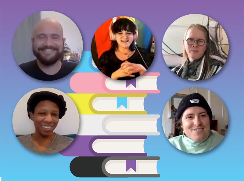 WATCH: Disrupting Literary Hegemony: Trans and Nonbinary Author Spotlight