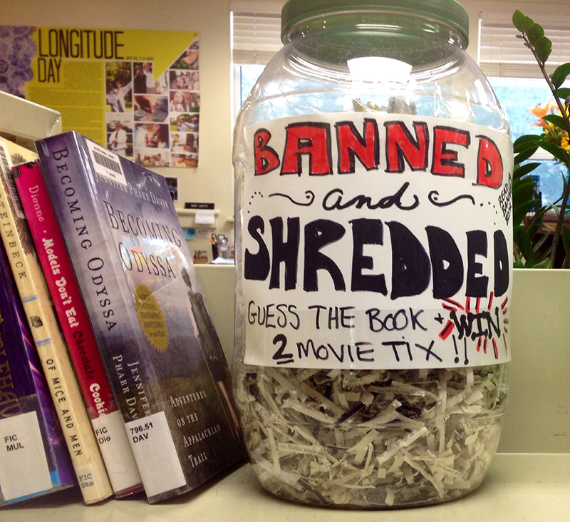 Get Crafty for Banned Books Week | Library Hacks