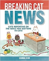 Book cover for breaking cat news
