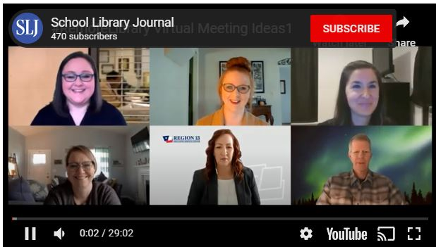 VIDEO: School Librarian Panel Discusses Using Virtual Meeting Tools To Connect with Students