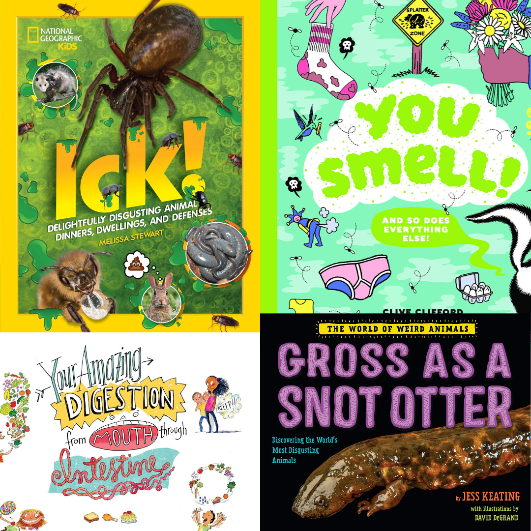 7 Books Chock-Full of Weird Science & Gross Facts To Fascinate the Whole Family | Summer Reading 2020