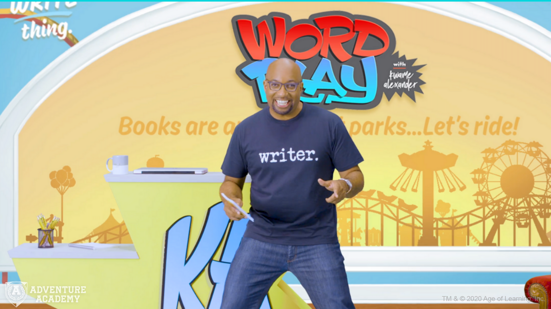 Kwame Alexander Creates WordPlay, A Digital Video Series on Writing